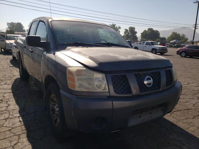 Salvage cars for sale from Copart Colton, CA: 2004 Nissan Titan XE