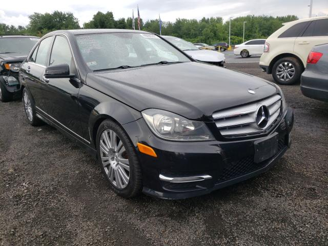 Salvage cars for sale from Copart East Granby, CT: 2012 Mercedes-Benz C 300 4matic