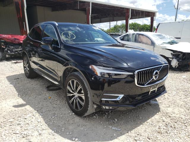 Volvo salvage cars for sale: 2021 Volvo XC60 T6 IN