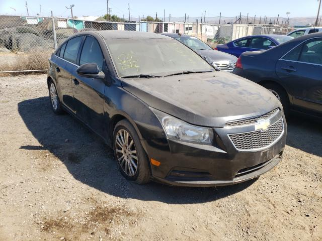 Salvage cars for sale from Copart San Martin, CA: 2012 Chevrolet Cruze ECO