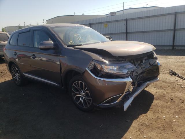 Mitsubishi Outlander salvage cars for sale: 2018 Mitsubishi Outlander