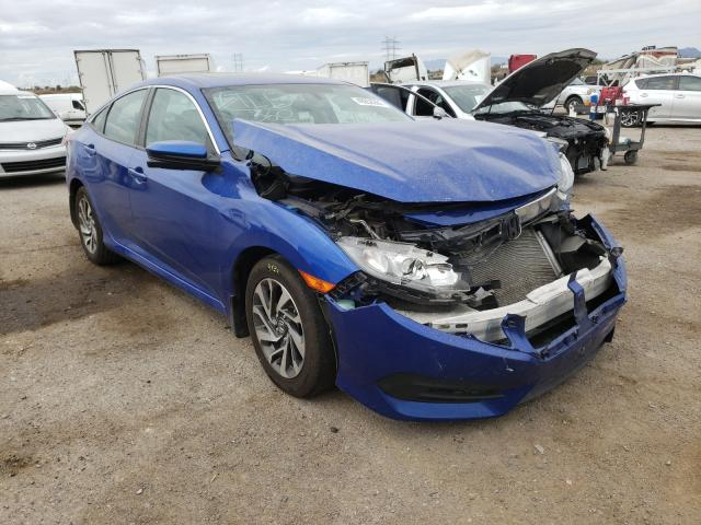 Salvage cars for sale from Copart Tucson, AZ: 2016 Honda Civic EX
