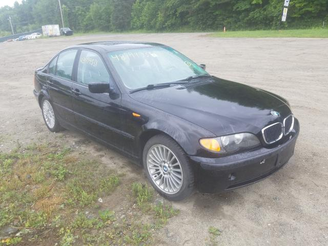 Salvage cars for sale from Copart West Warren, MA: 2002 BMW 325 XI