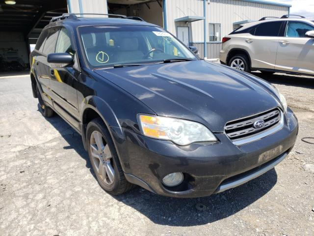 Salvage cars for sale from Copart Chambersburg, PA: 2006 Subaru Legacy Outback