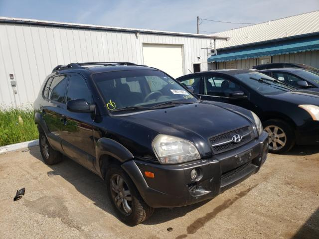 Salvage cars for sale from Copart Pekin, IL: 2007 Hyundai Tucson SE