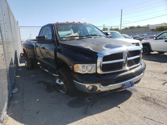 Salvage cars for sale from Copart Moraine, OH: 2004 Dodge RAM 3500 S