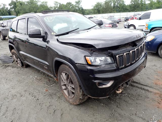 Vehiculos salvage en venta de Copart Spartanburg, SC: 2016 Jeep Grand Cherokee