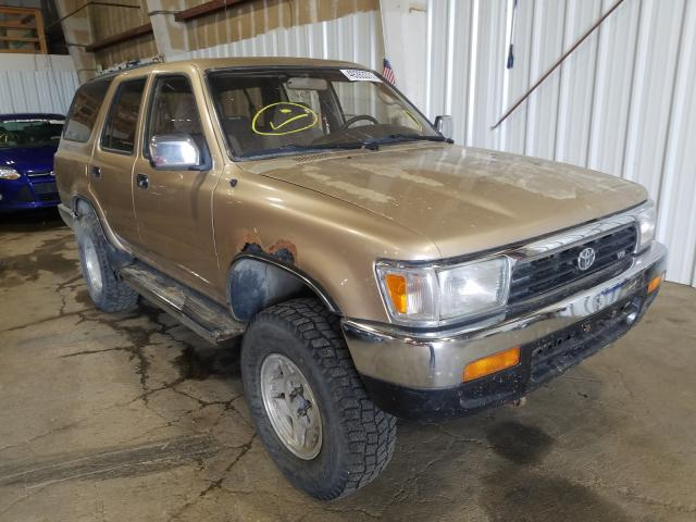 Salvage cars for sale from Copart Anchorage, AK: 1995 Toyota 4runner VN
