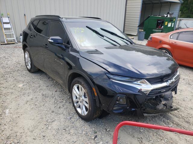 Chevrolet salvage cars for sale: 2020 Chevrolet Blazer 3LT