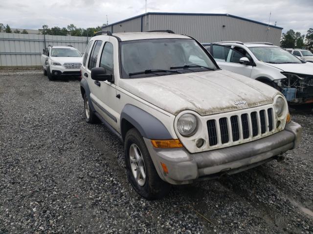 Vehiculos salvage en venta de Copart Spartanburg, SC: 2005 Jeep Liberty SP