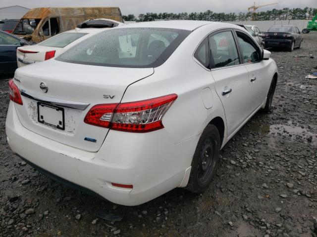 2014 NISSAN SENTRA S 3N1AB7APXEY257914