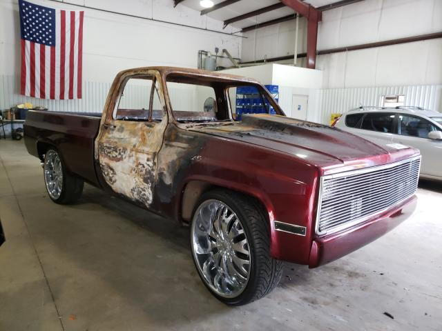 Salvage cars for sale from Copart Lufkin, TX: 1981 Chevrolet C10