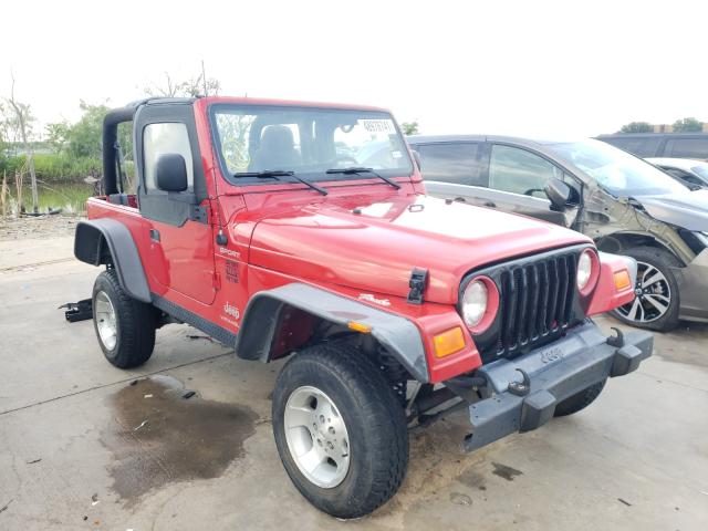Jeep Wrangler salvage cars for sale: 2004 Jeep Wrangler