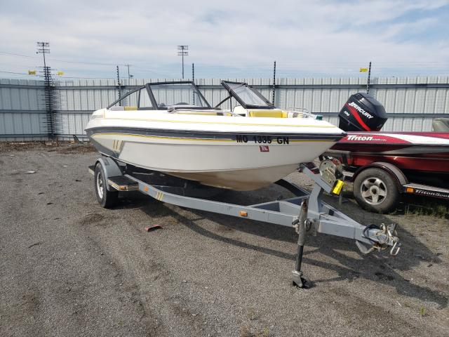 Glastron salvage cars for sale: 1990 Glastron Sierra 175