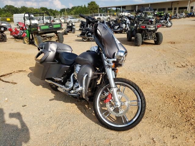 Salvage motorcycles for sale at Tanner, AL auction: 2016 Harley-Davidson Flhxs Street