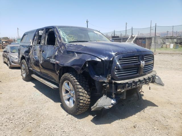 Salvage cars for sale from Copart San Martin, CA: 2014 Dodge RAM 1500 Sport