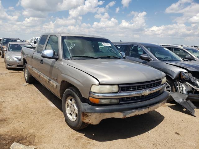 Salvage cars for sale from Copart Amarillo, TX: 2002 Chevrolet Silverado