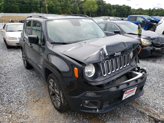 Salvage cars for sale from Copart Gastonia, NC: 2017 Jeep Renegade L