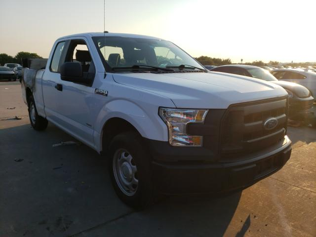 Salvage cars for sale from Copart Grand Prairie, TX: 2016 Ford F150 Super