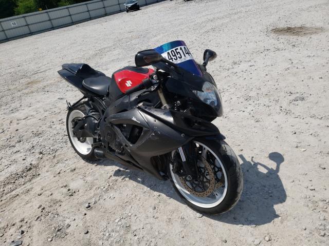 Salvage motorcycles for sale at Prairie Grove, AR auction: 2006 Suzuki GSX-R600 K