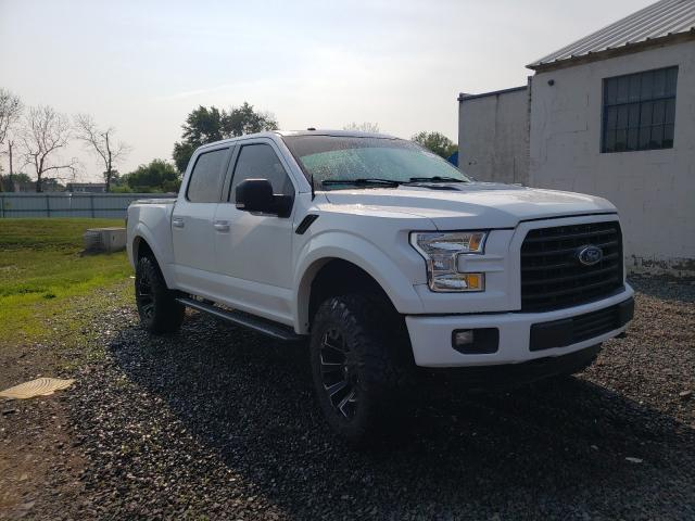 Salvage cars for sale from Copart Hillsborough, NJ: 2016 Ford F150 Super