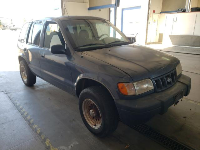 Salvage cars for sale from Copart Pasco, WA: 2002 KIA Sportage
