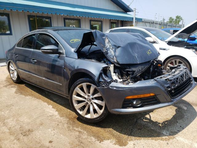 Salvage cars for sale from Copart Pekin, IL: 2010 Volkswagen CC Luxury