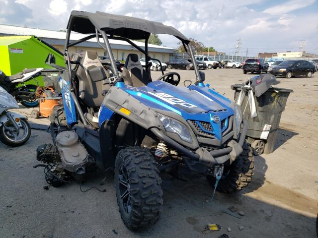 Can-Am Z Force salvage cars for sale: 2017 Can-Am Z Force