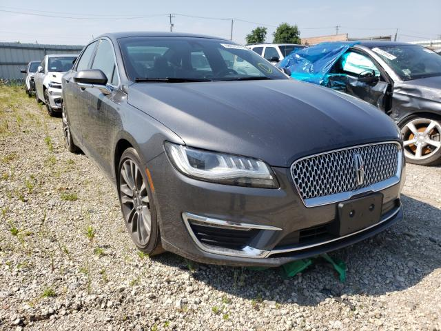 Lincoln salvage cars for sale: 2017 Lincoln MKZ Select