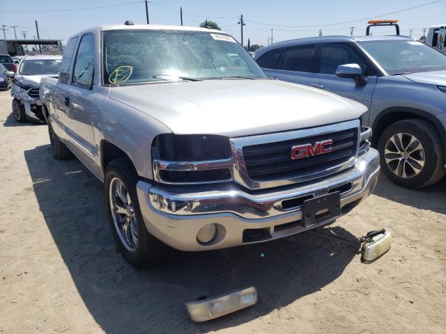 Vehiculos salvage en venta de Copart Los Angeles, CA: 2004 GMC New Sierra