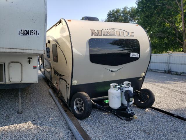 Vehiculos salvage en venta de Copart Wichita, KS: 2020 Rockwood Motorhome