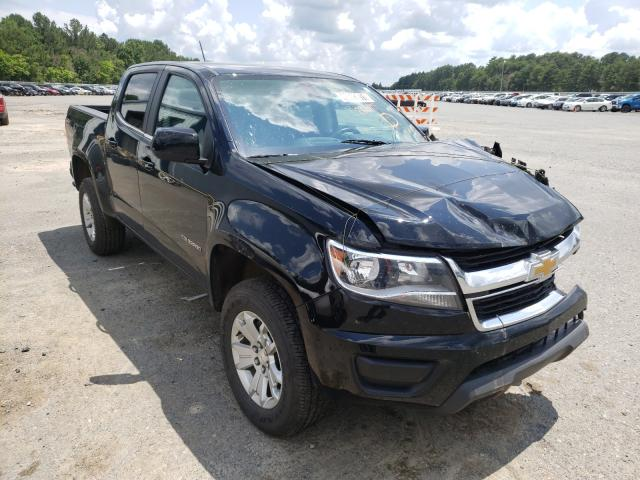 Salvage cars for sale from Copart Shreveport, LA: 2020 Chevrolet Colorado L