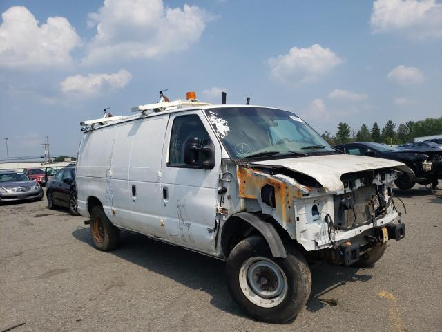 Salvage cars for sale from Copart Pennsburg, PA: 2008 Ford Econoline