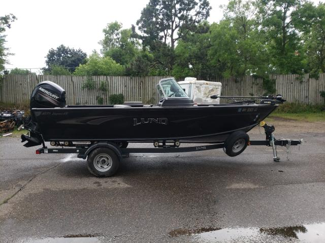Salvage cars for sale from Copart Ham Lake, MN: 2019 Lund Boat