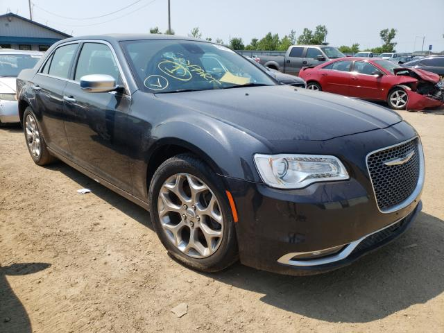 Salvage cars for sale from Copart Pekin, IL: 2017 Chrysler 300C Platinum
