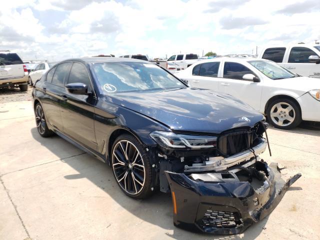BMW M550XI salvage cars for sale: 2021 BMW M550XI