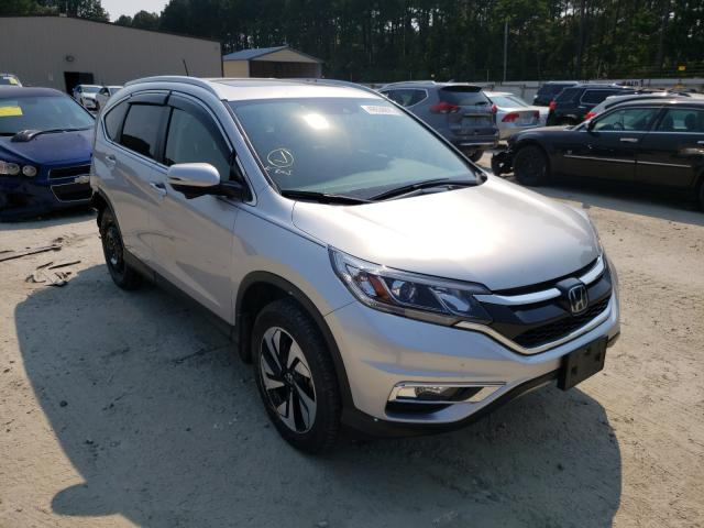 Salvage cars for sale from Copart Seaford, DE: 2016 Honda CR-V Touring