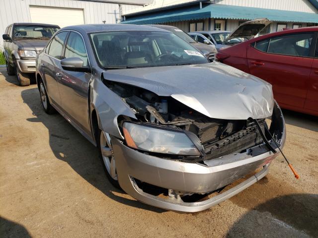 Salvage cars for sale from Copart Pekin, IL: 2013 Volkswagen Passat SE