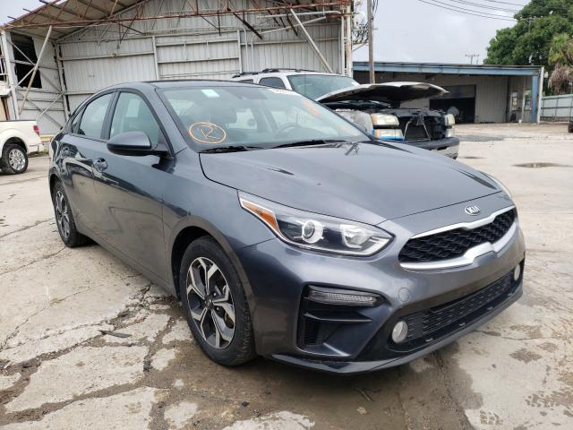 Salvage cars for sale from Copart Corpus Christi, TX: 2020 KIA Forte FE