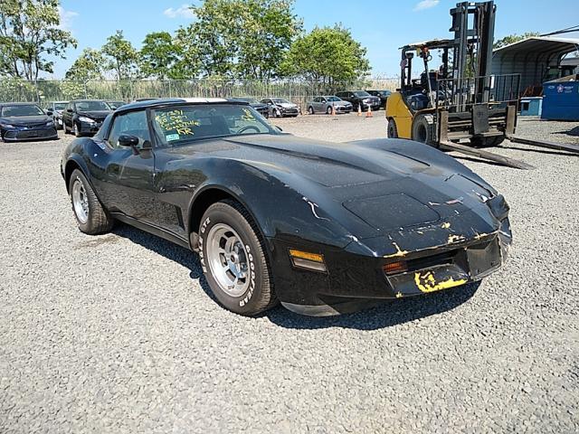 Salvage cars for sale from Copart Hillsborough, NJ: 1980 Chevrolet Corvette