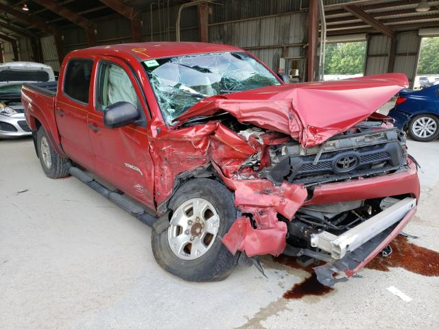 Salvage trucks for sale at Greenwell Springs, LA auction: 2015 Toyota Tacoma DOU