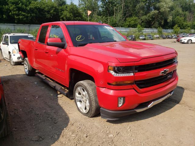 Salvage cars for sale from Copart Davison, MI: 2017 Chevrolet Silverado