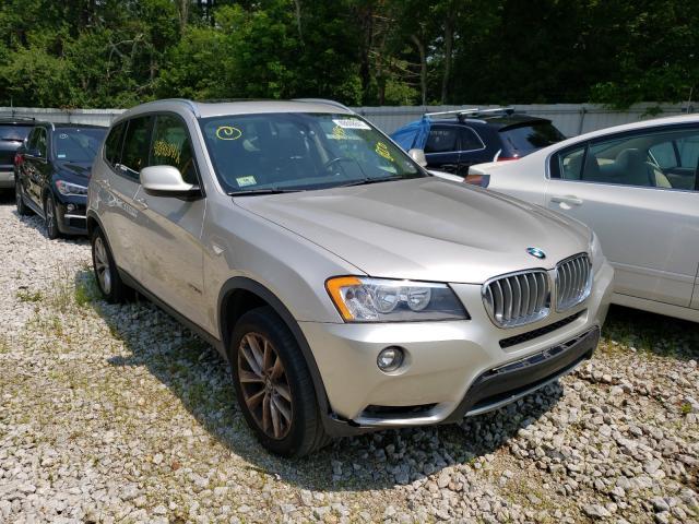 BMW X3 salvage cars for sale: 2014 BMW X3