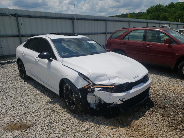 Salvage cars for sale at Prairie Grove, AR auction: 2022 KIA K5 GT Line