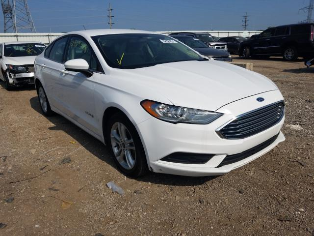 Salvage cars for sale from Copart Elgin, IL: 2018 Ford Fusion SE