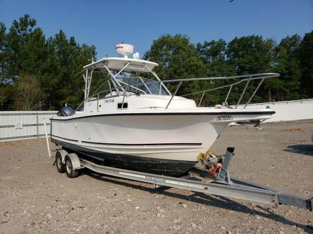 Salvage boats for sale at Charles City, VA auction: 1997 Robalo Boat