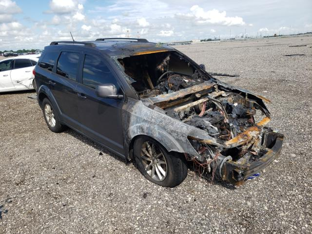 Salvage cars for sale from Copart Houston, TX: 2017 Dodge Journey SX