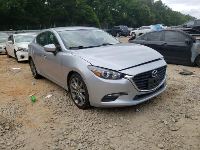 Salvage cars for sale from Copart Austell, GA: 2018 Mazda 3 Touring