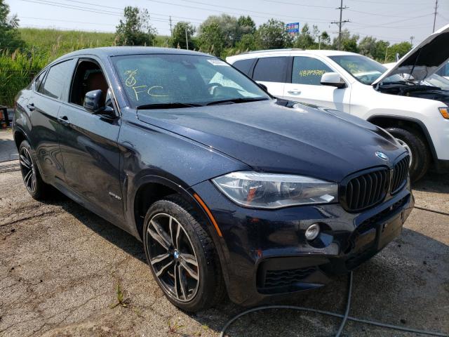 BMW Vehiculos salvage en venta: 2015 BMW X6 XDRIVE5