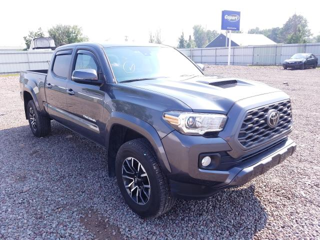 Salvage cars for sale from Copart Central Square, NY: 2020 Toyota Tacoma DOU